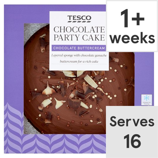 Tesco Chocolate Party Cake Groceries Tesco Groceries
