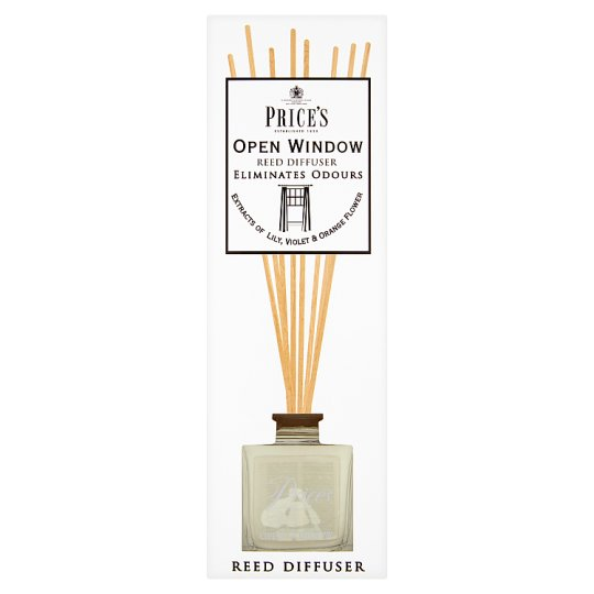 Price's Open Window Reed Diffuser