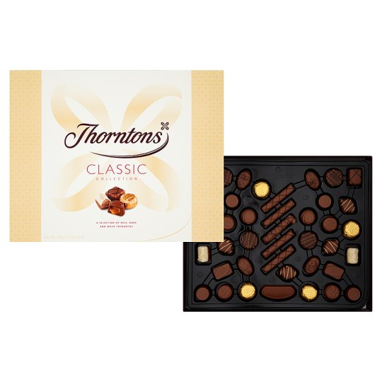 Thorntons Classic Collection Boxed Chocolates 468G