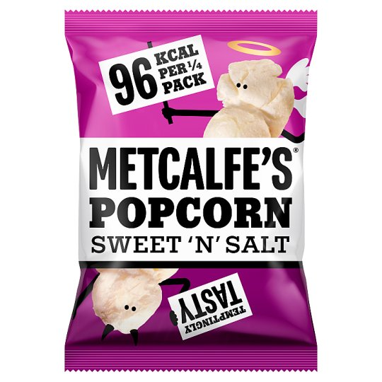 Metcalfes Skinny Sweet And Salty Popcorn 80 G