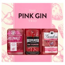 The Pink Gin Trio Selection Gift Set