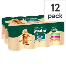 Winalot Classic In Jelly Lamb Duck Chicken 12 X 400G