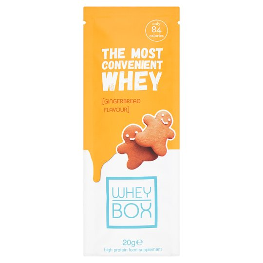 Whey Box Gingerbread Whey Protein Sachet 20G