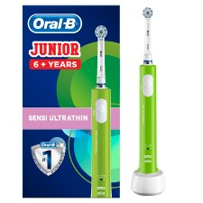 image 1 of Oral-B Junior 6+ Green Electric Toothbrush