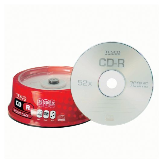 Tesco Cd-R 25 Disc Spindle