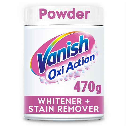 Vanish Crystal White Oxi Action Stain Remover Powder 470 G