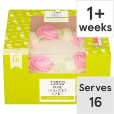 Tesco Rose Bouquet Cake