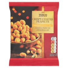 Tesco Coated Peanuts Cheese And Chilli Jam 200G
