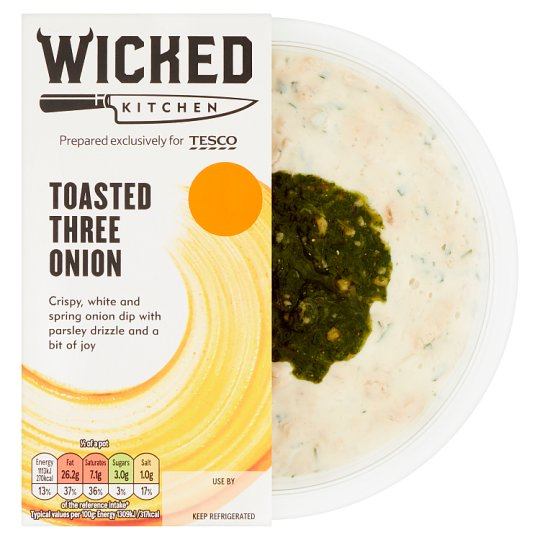 Wicked Kitchen Toasted 3 Onion Dip 170G
