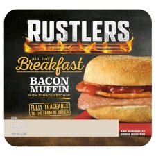 Rustlers Bacon Muffin 109G