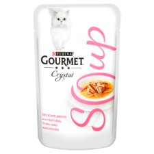 Gourmet Soup With Tuna And Anchovy 40G Cat Food