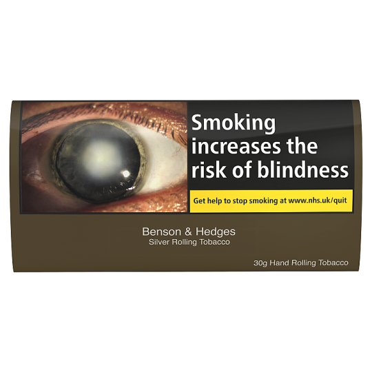Benson And Hedges Silver Roll Your Own 30G