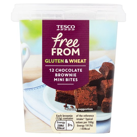 Tesco Free From Belgian Chocolate Wafers