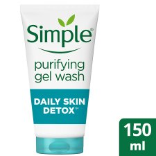 Simple Daily Detox Purifying Skin Face 150Ml