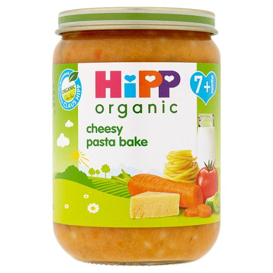 Hipp 7 Month Organic Cheesy Pasta Bake 190G Jar