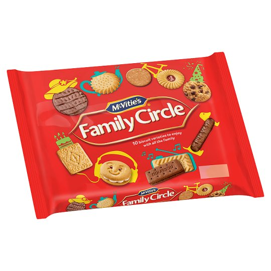 Mcvities Family Circle Biscuits 360G