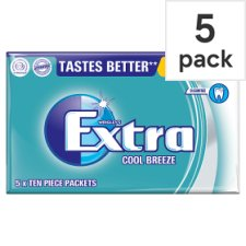 Wrigleys Extra Cool Breeze Gum 5 Pack