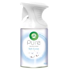 image 1 of Airwick Air Freshener Aerosol Pure Cotton 250 Ml