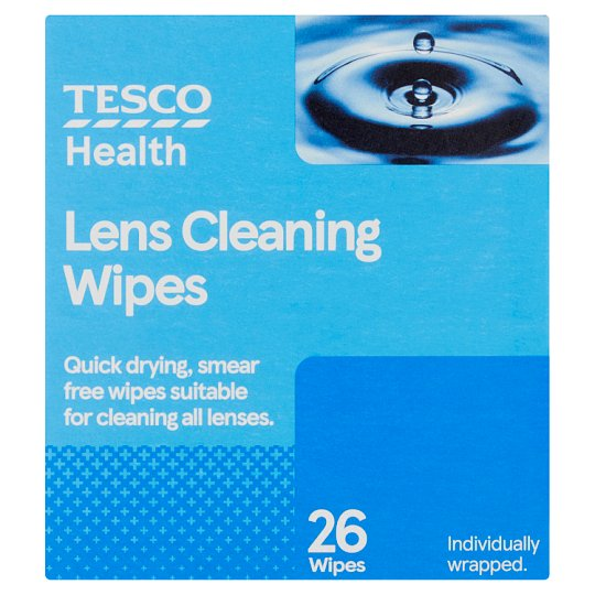 Tesco Lens Wipes X26