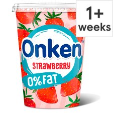 Onken Fat Free Strawberry Yogurt 450G