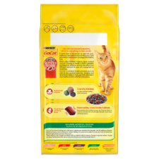 image 2 of Go Cat Crunchy And Tender Beef And Chicken 1.5Kg