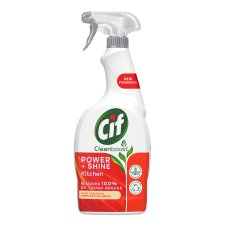 Cif Power And Shine Kitchen Cleaner Spray 700Ml