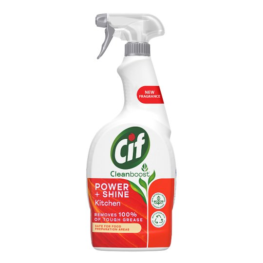 Kitchen Cleaner: Cif Power And Shine Kitchen Cleaner Spray 700Ml