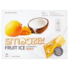 Smooze Fruit Ice Coconut And Mango 5X65ml