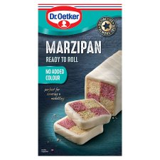 Dr Oetker Natural Marzipan Ready To Roll 454G
