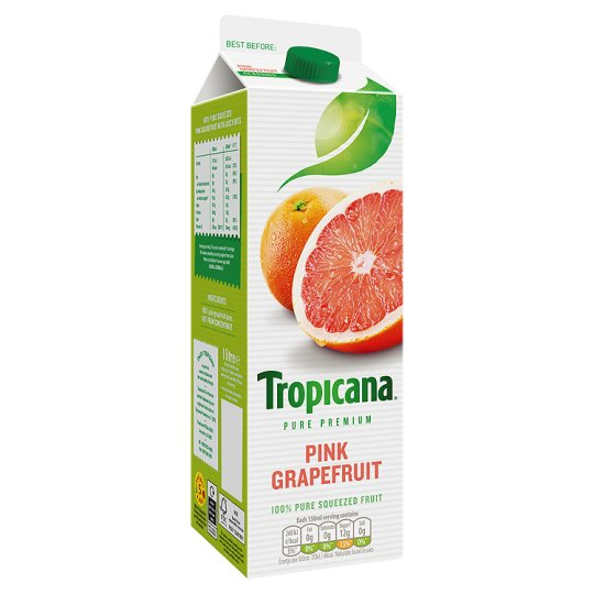 Tropicana Pink Grapefruit Juice 1 Litre