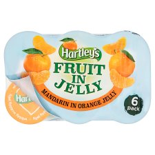 Hartleys Mandarin In Orange Jelly 6 Pack 720G