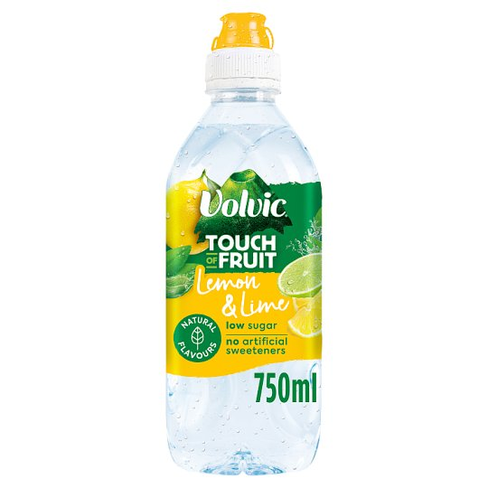 Volvic Touch Of Fruit Lemon And Lime 750Ml