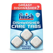 Finish In Wash Dishwasher Cleaner 3 Tablets