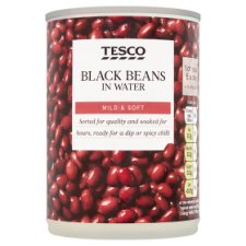 Tesco Black Beans 400G