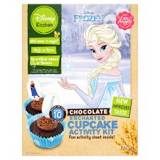 image 1 of Disney Frozen Chocolate Cupcake Kit 125G