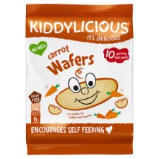 Kiddylicious Wafers Carrot 40G