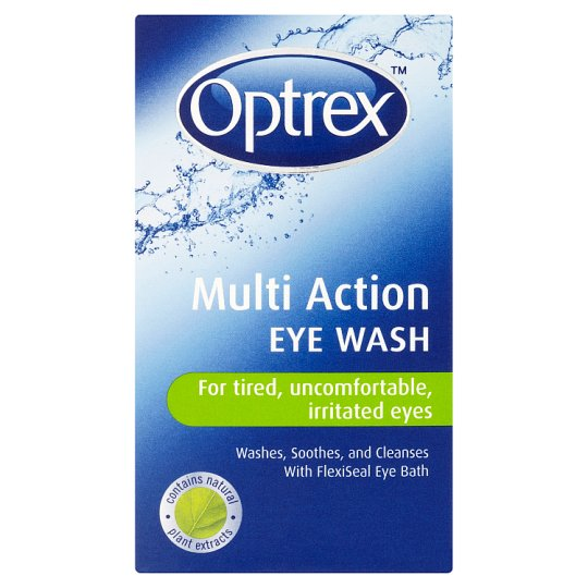 image 1 of Optrex Multi Action Eye Wash 100Ml