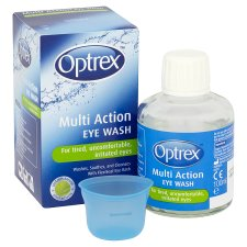 image 2 of Optrex Multi Action Eye Wash 100Ml