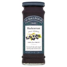 St Dalfour Blackcurrant Fruit Spread 284G
