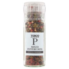 Tesco Rainbow Pepper Corn Grinder 40G