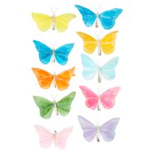 Tesco Butterfly Decorations 5 Pack