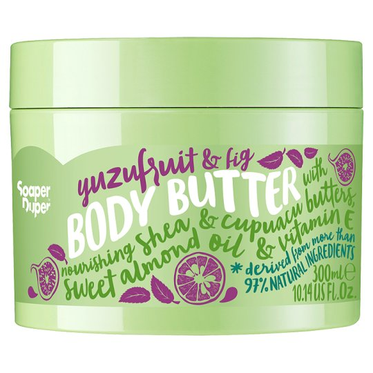 image 1 of Soaper Duper Yuzu Fruit And Fig Body Butter 300Ml