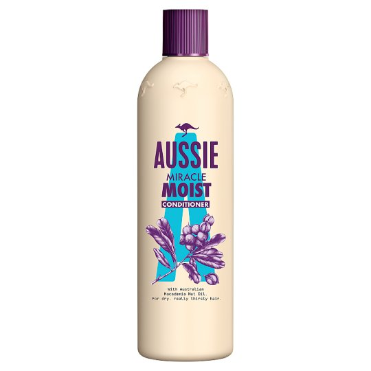 image 1 of Aussie Miracle Moist Conditioner 400Ml