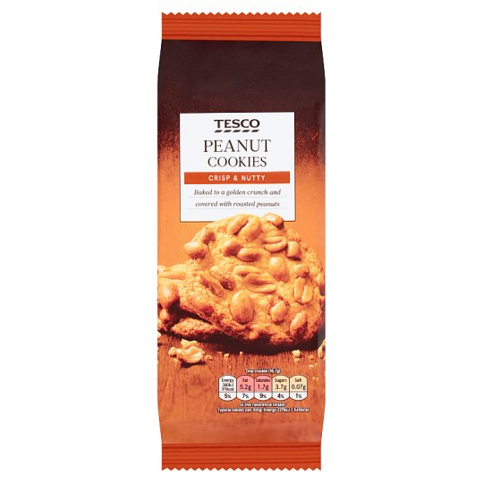 Tesco Peanut Cookies 200G