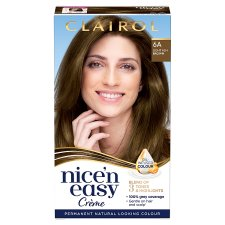 Clairol Nice 'N Easy Light Ash Brown 6A Hair Dye