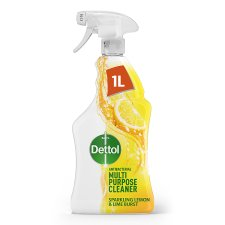 Dettol Power And Fresh Spray Citrus 1L