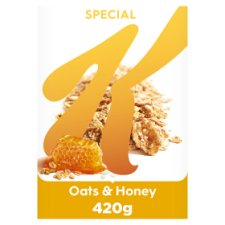 Kellogg's Special K Oats & Honey Cereal 420 G