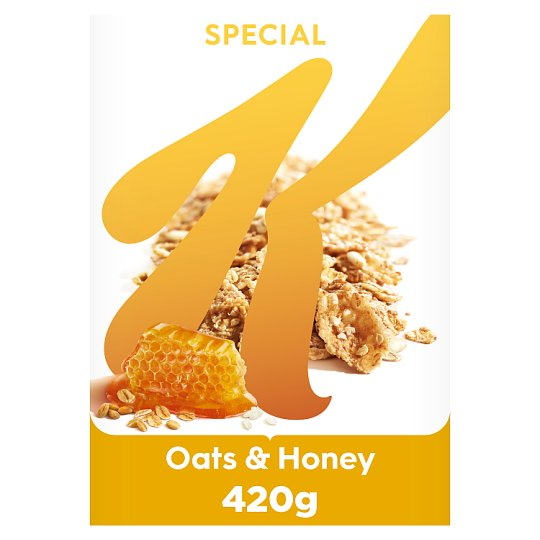 Kelloggs Special K Oats And Honey Cereal 420 G