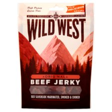Wild West Original Beef Jerky 70G