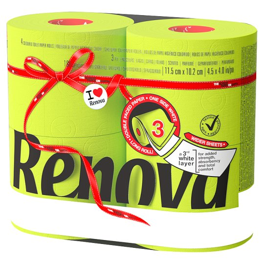 Renova Red Label Toilet Paper 4 Rolls